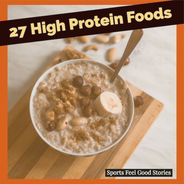 27 High Protein Foods For Best Performance #athletenutrition 27 High Protein Foods for Athletes.   #...