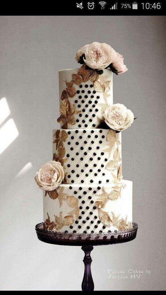 Perlen Blumen weiß Gold schwarz rosè   Hochzeit / wedding ...