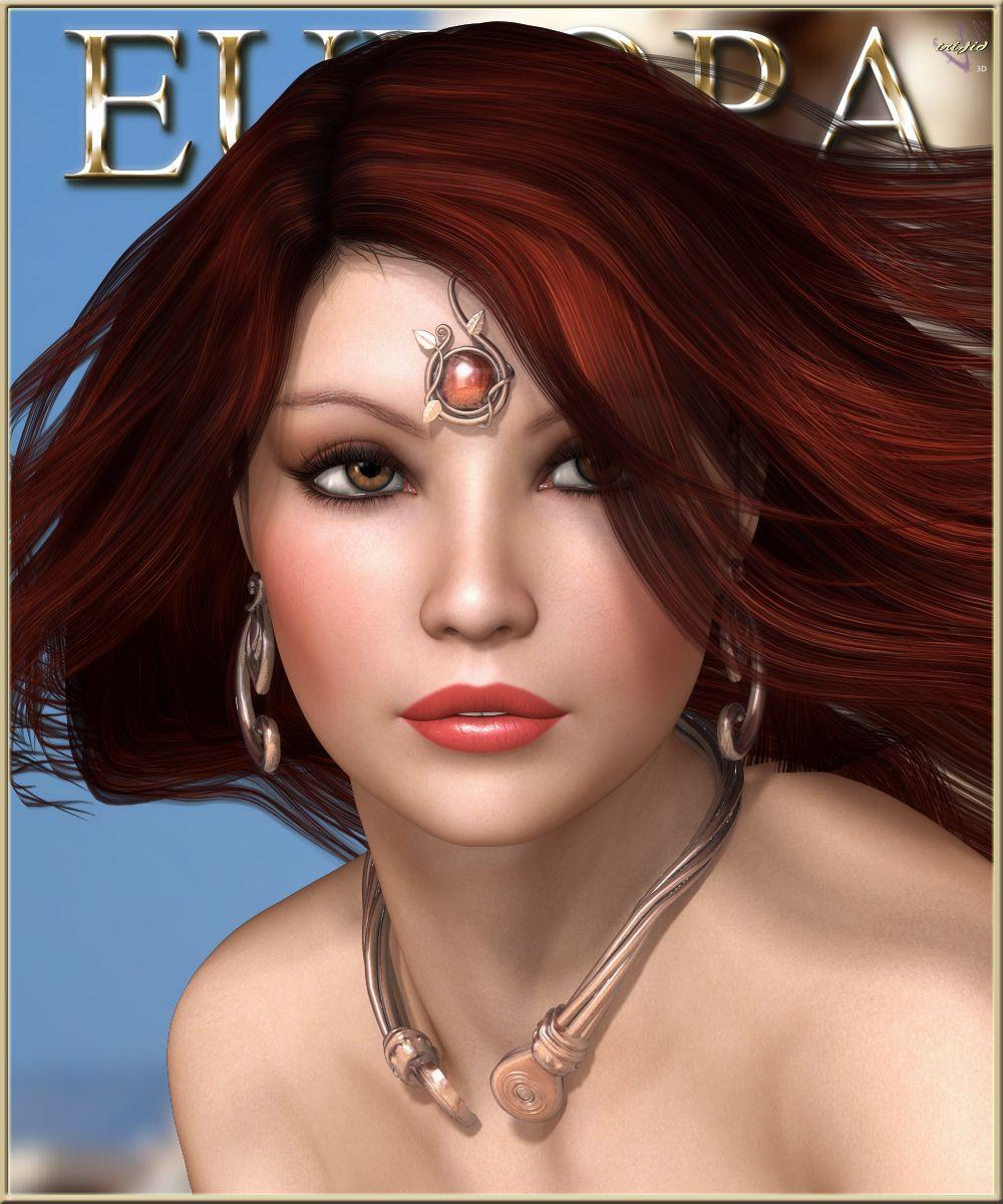 TF Europa for V4 3D Figure Essentials Trifid