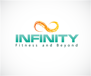 Logo Design by wolf for Infinity Fitness and Beyond...  Design: #3625513 , #AFF, #ad#wolf#Fitness#Lo...