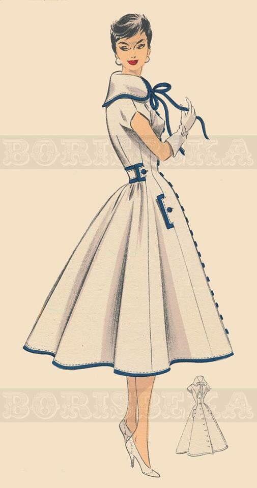 Pin von Daya Monay auf Vintage | Pinterest | Vintage schnittmuster ...