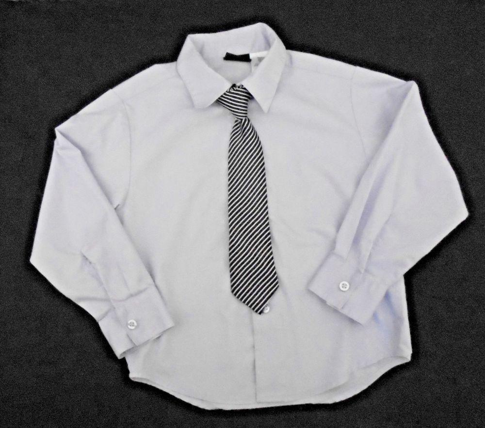 Holiday Editions Lavender Dress Shirt Ls Churchholiday Boys Tie