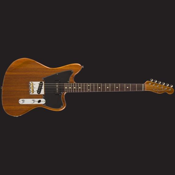 Guitars Fender Made In Japan Mahogany Offset Telecaster Natural Rosewood Fender Guitars Telecaster Guitar