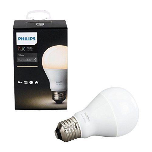 Philips 455295 Hue White A19 Single Led Bulb Works With Amazon Alexa Hue Bridge Required Click Image To Review More Hue Philips Led Smart Bulb Smart Bulbs