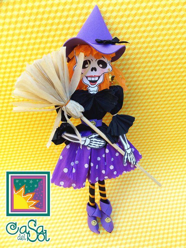 Hallowen Cosas De Halloween Calavera De Papel Manualidades