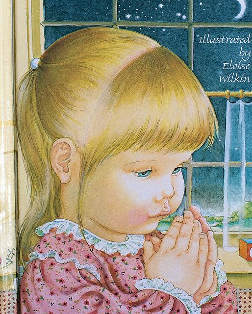 Prayers For A Small Child Illustration Children Praying Children Illustration
