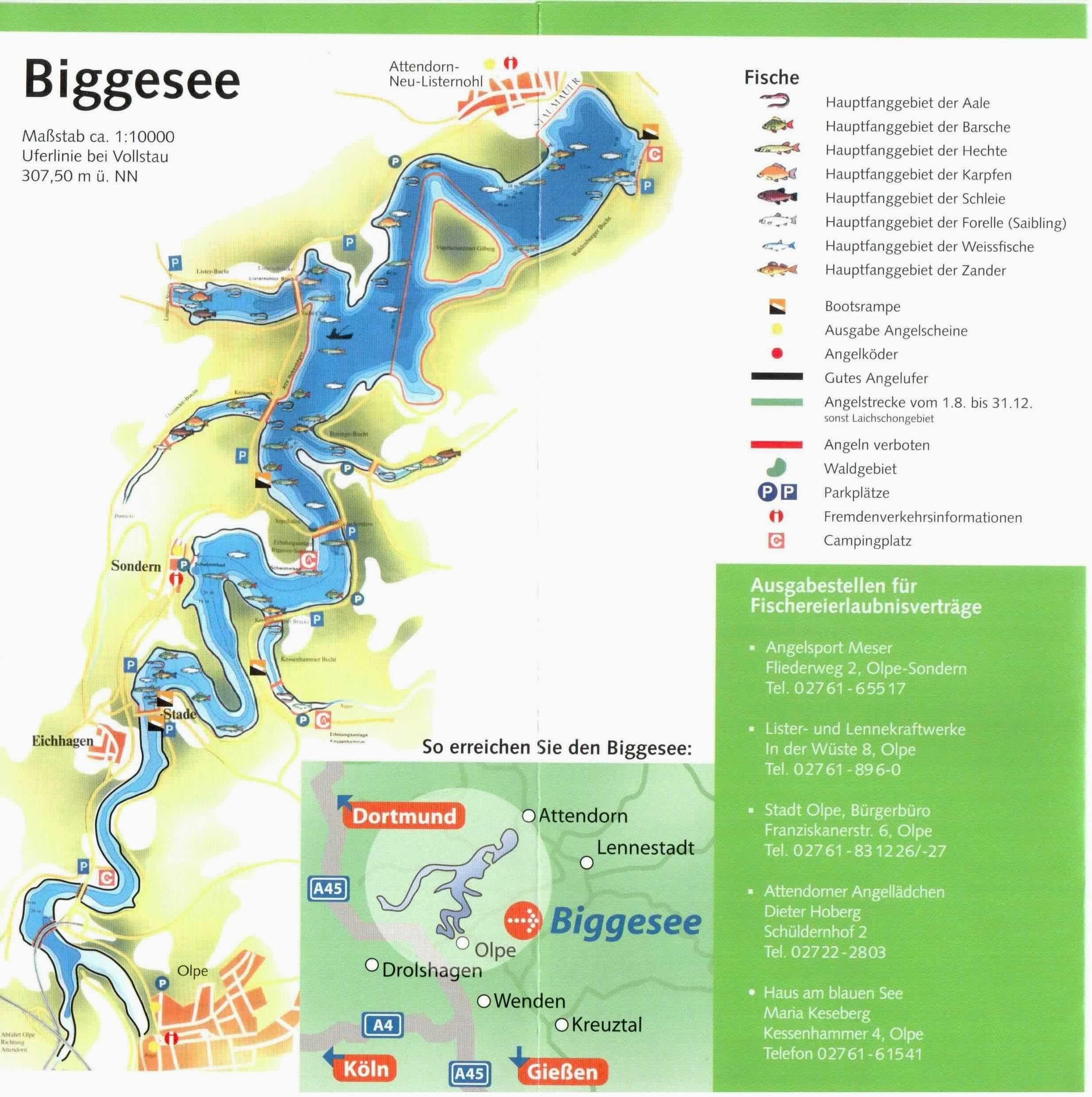 Afbeeldingsresultaat Voor Biggesee Weissfisch Ausflug Sauerland