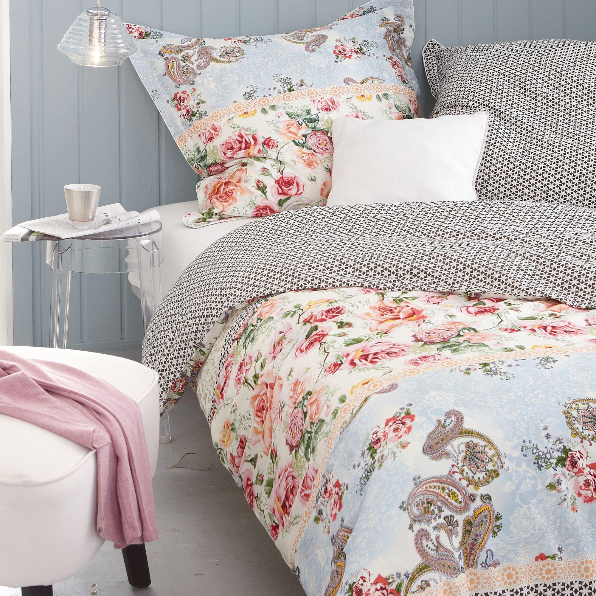 Romantische Bettwäsche Essenza Mit Blumenprint Beautiful Bedding