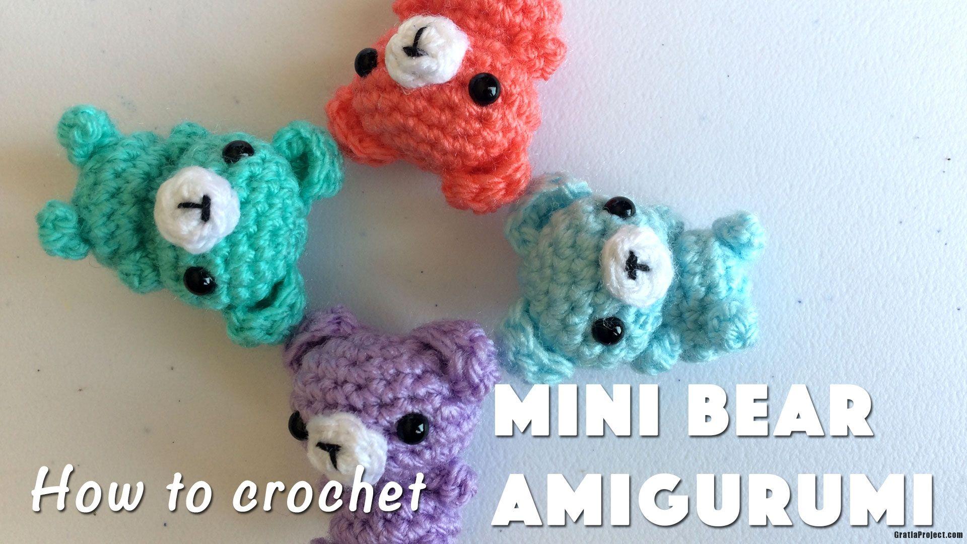Mini Bear Amigurumi Crochet Pattern | Crochet patterns amigurumi ... | 1080x1920