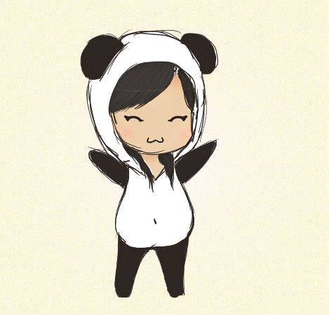 Kawaii Panda Girl 3 Crafts And Kawaii Stuff Chibi Panda Panda