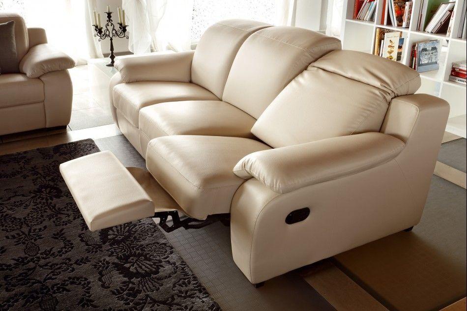 Contemporary Leather Recliner Sofa Design In 2020 Leather Reclining Sofa Reclining Sofa