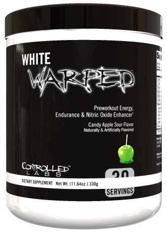 Controlled Labs White Warped Pre Workout Great Value And Better Flavors Preworkout Workout Supplements Best Bodybuilding Supplements