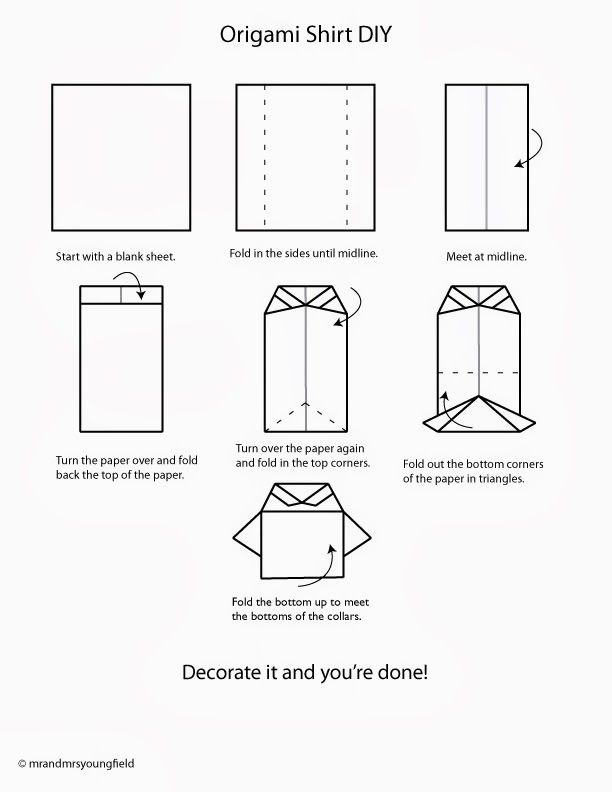 Схемы открытки рубашки, гвоздика