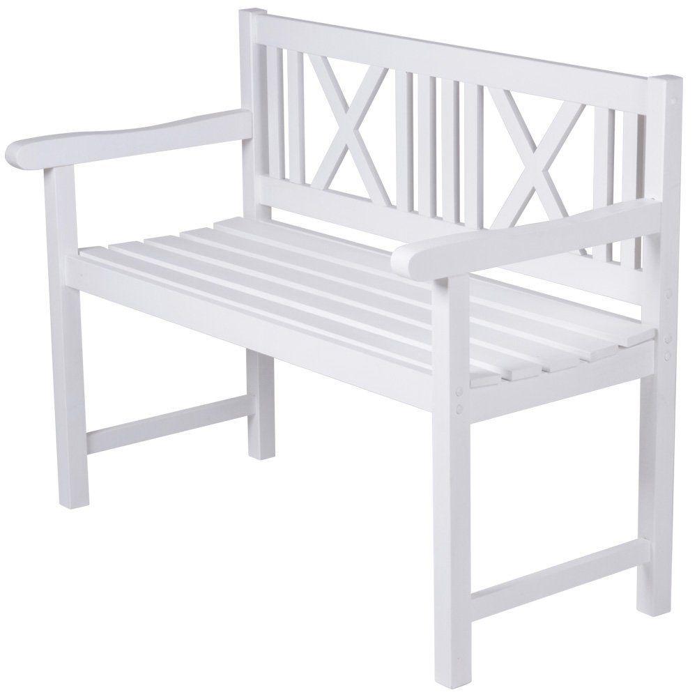 Gartenbank Weiß Holz | Holz Gartenbank | Pinterest | Gartenbänke ...