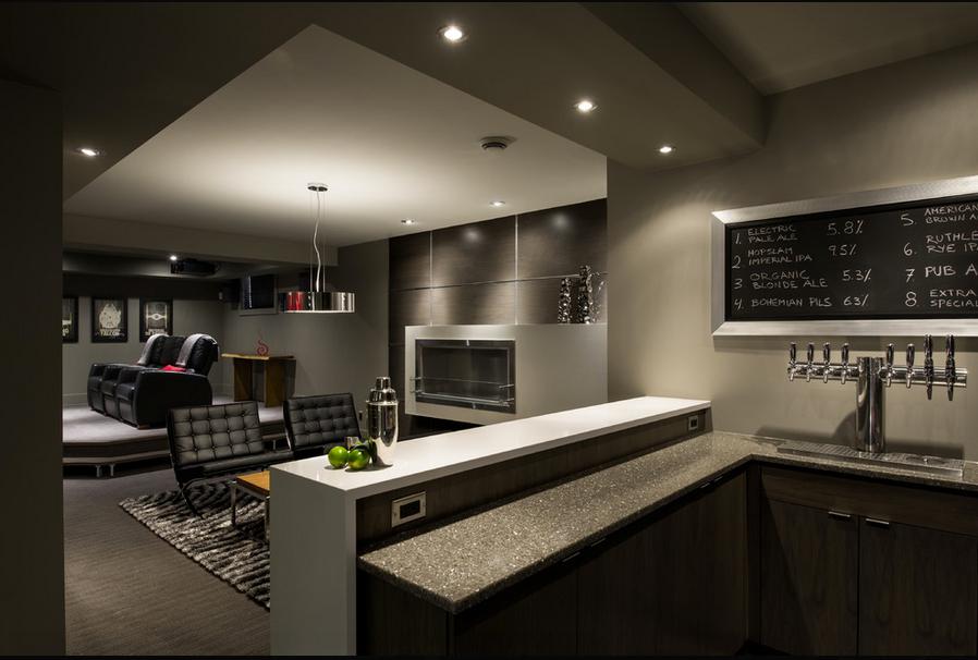 Basement Home Theater Design Ideas Decor how to make a dark basement brighter drak wallpaper | paint