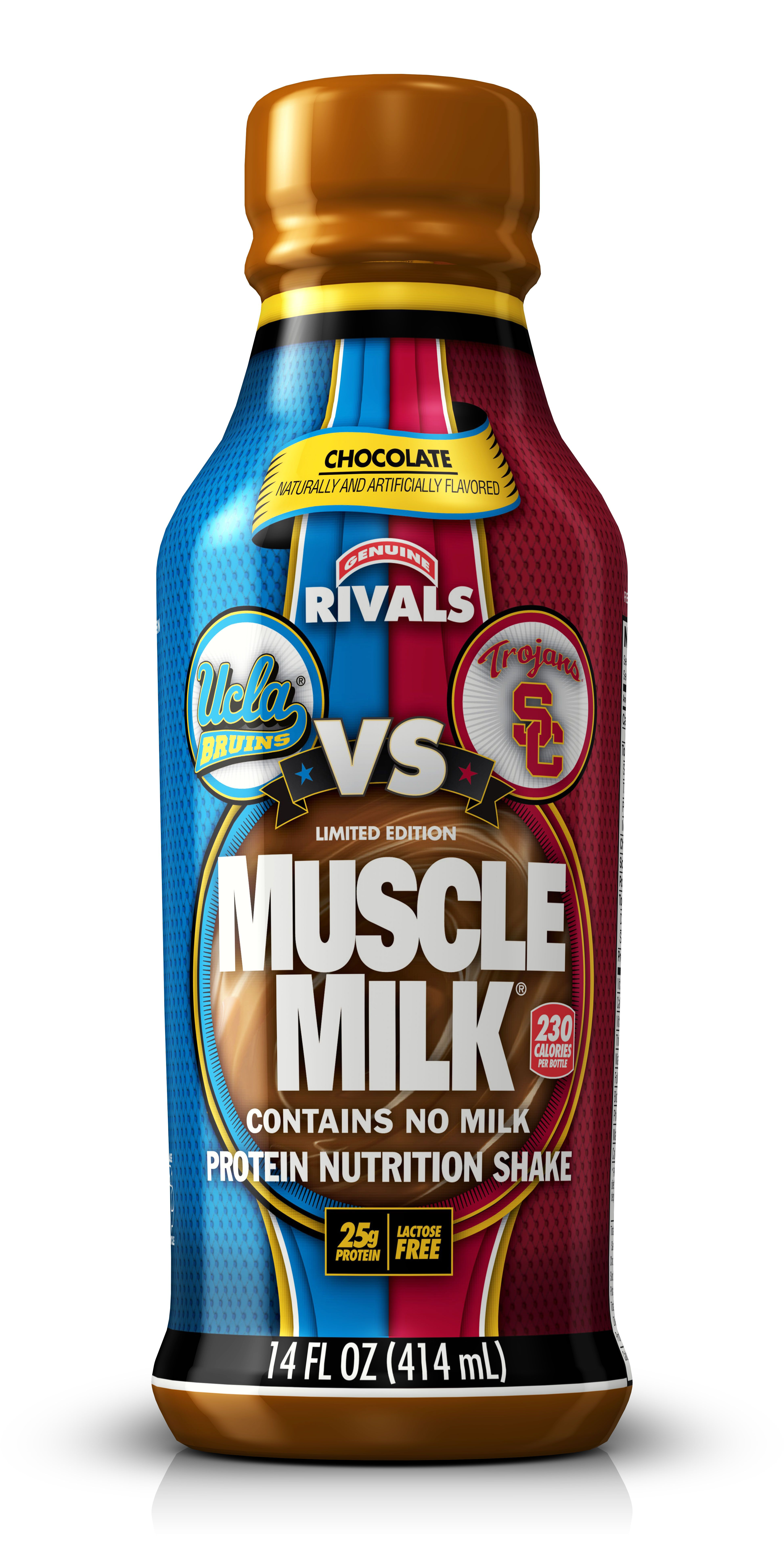 Crosstown rivalry with images muscle milk usc trojans