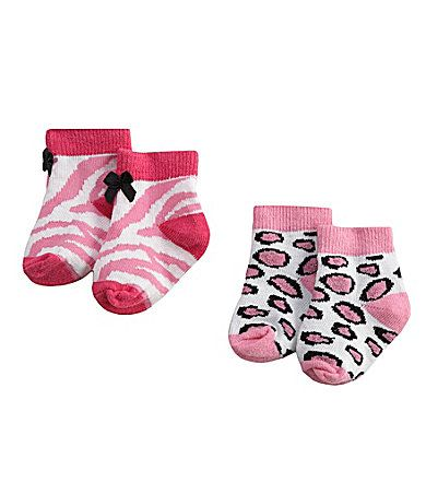 Starting Out Infant Animal Print Booties | Dillards.com
