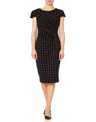 Highlands FEVER Retro 1960s Geo Grid Pencil Dress: http://www.atomretro.com/21226 #fever #feverdesigns #feverclothing #highlands #dress #1960s #retrodress #retro #vintage #atomretro #womensfashion #womensstyle