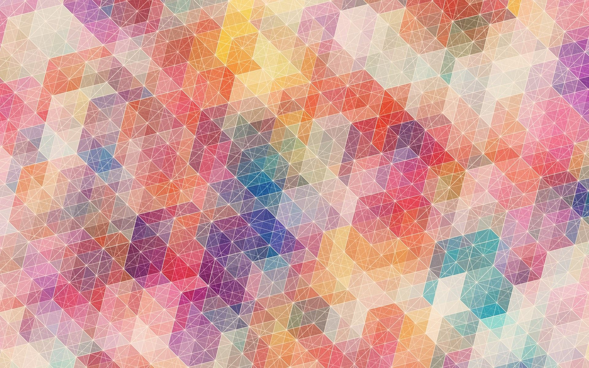 Geometric Pattern HD Wallpaper 1080p