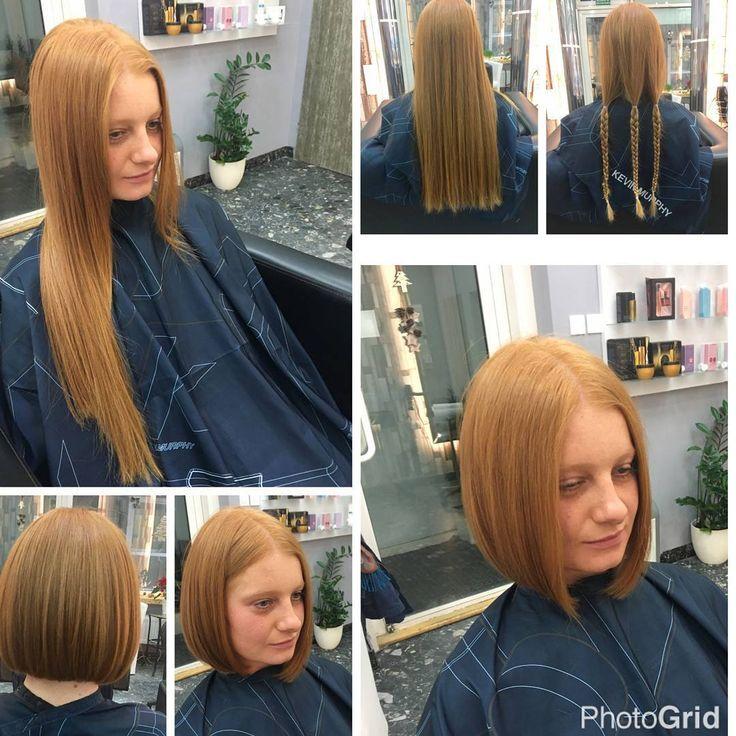 Long Bob Frisuren Vorher Nachher In 2020 Long To Short Hair Crop Hair Waist Length Hair