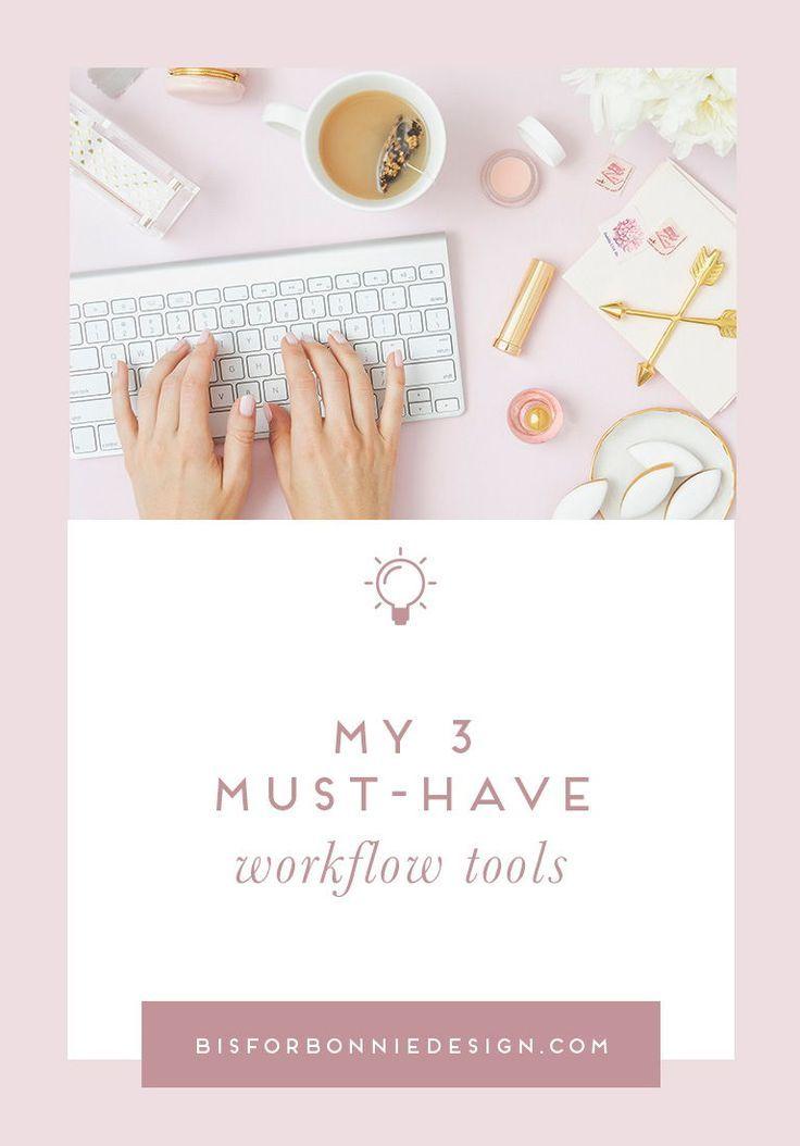 My 3 musthave workflow tools Workflow, Streamline