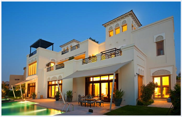 Surrounded By Lush Landscaped Gardens Al Barari S Private Villa Homes Represent The Finest In Luxury Duba Luxury Homes Luxury Homes Dream Houses Dubai Houses