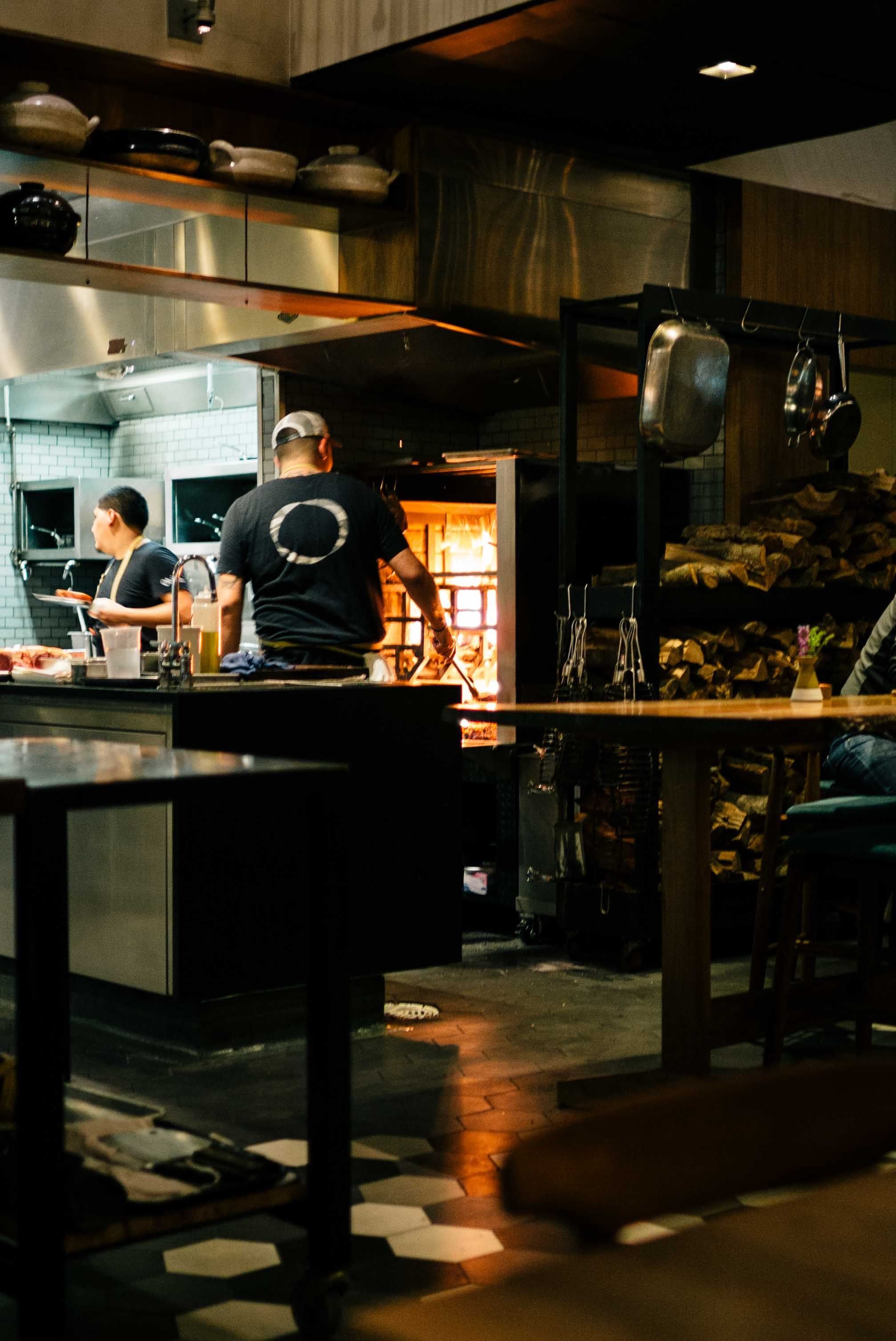 Top Downtown La Restaurants Otium The Taste Edit Open Kitchen Restaurant Downtown La Restaurants Wood Fired Oven