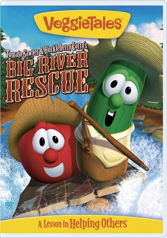 VeggieTales Review: Tomato Sawyer and Huckleberry Larry's
