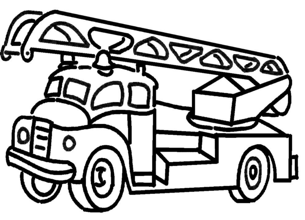 Camion Dei Pompieri Da Colorare Buscar Con Google Camion Dei