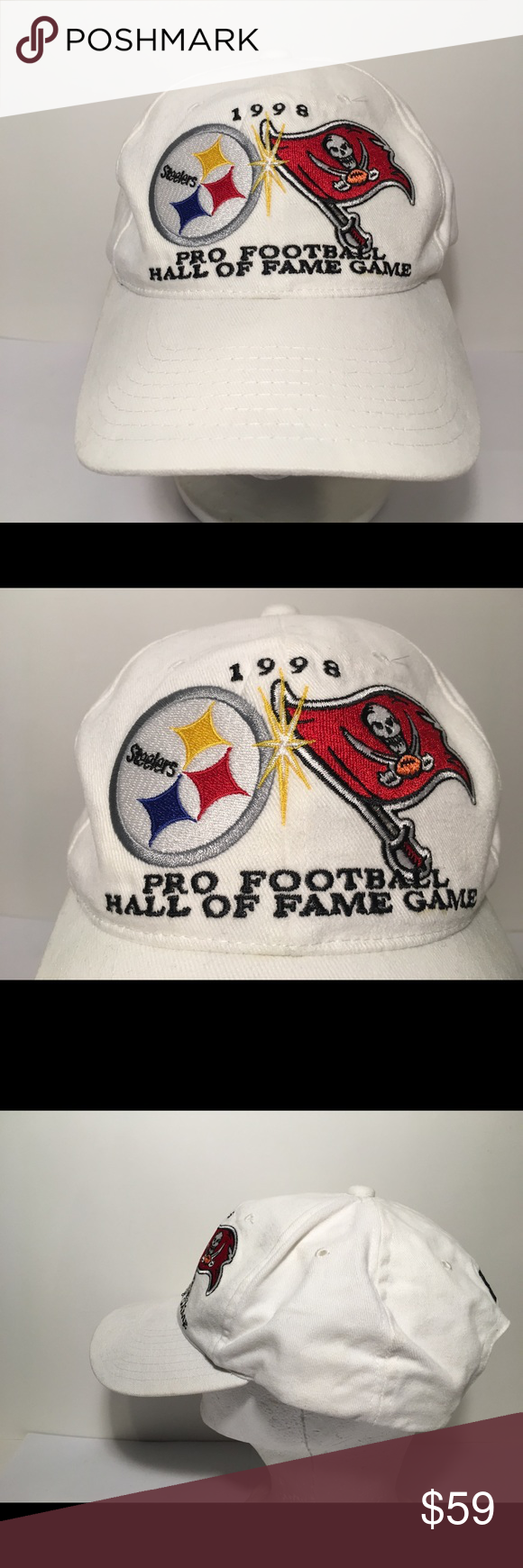 Starter Hat 1998 Pro Football Hall Of Fame Game • Rare