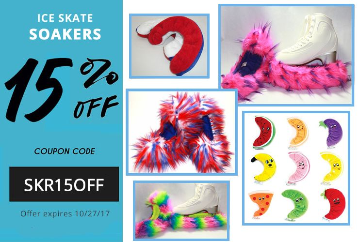 15% OFF Ice Skate Soakers Coupon Code SKR15OFF Offer expires