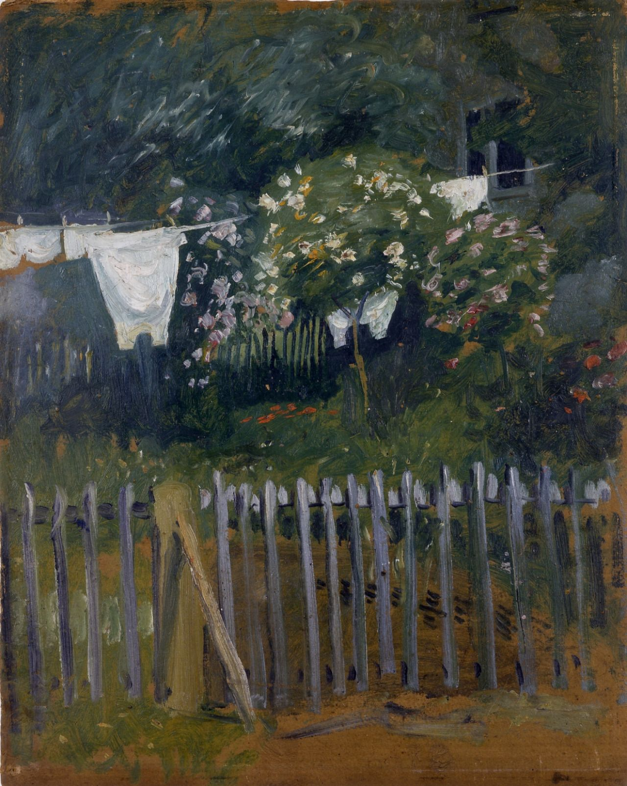Beautiful August Macke German Laundry in the garden in Kandern