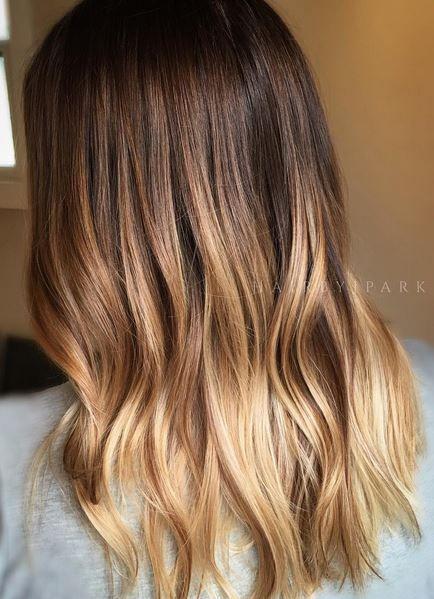 Hair Goals Honey Brunette Ombre Brown Ombre Hair