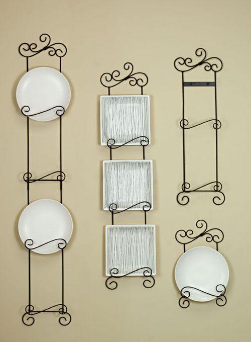 vertical plate hangers | Arabesque Vertical Plate Racks - 3 Tier  sc 1 st  Pinterest & vertical plate hangers | Arabesque Vertical Plate Racks - 3 Tier ...