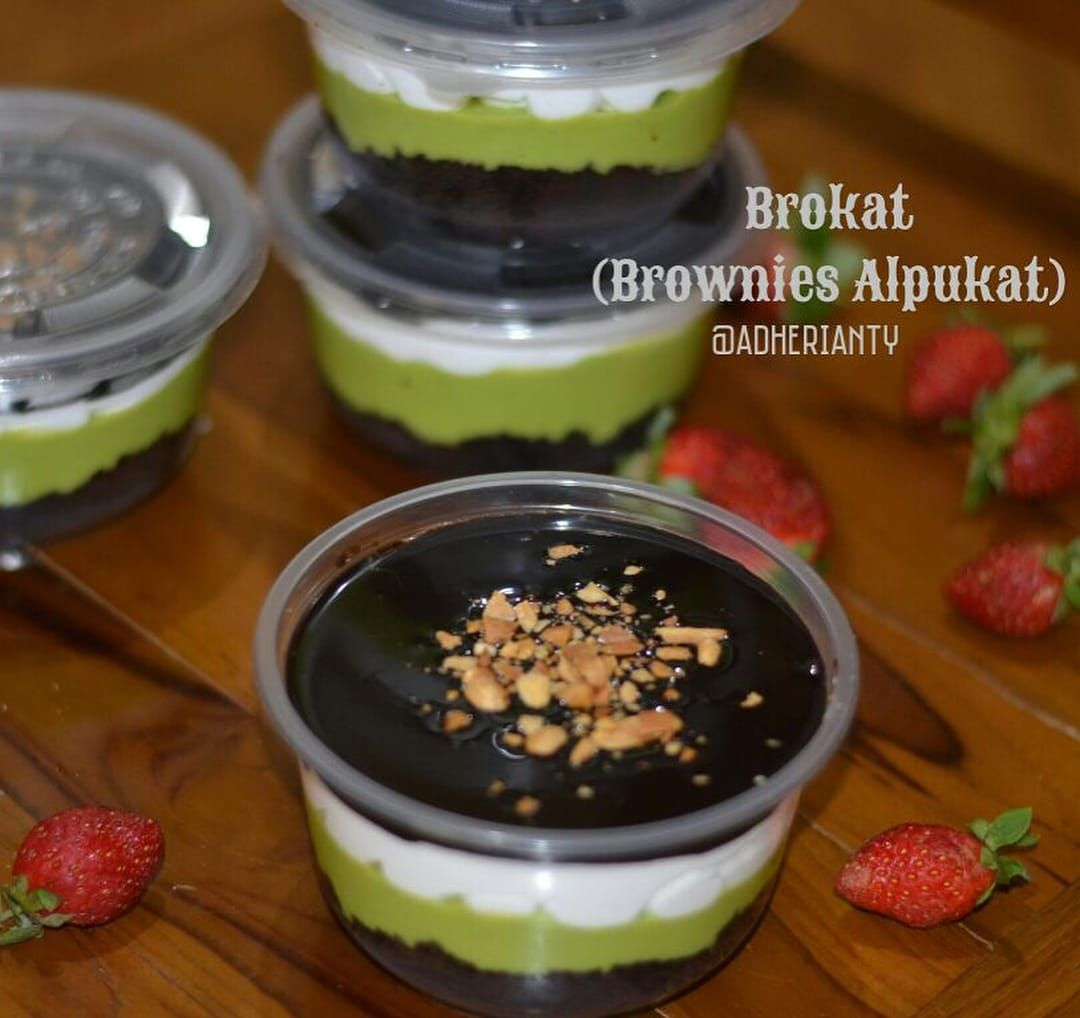 Brownies Alpukat Cooking Recipes Desserts Avocado Dessert Food