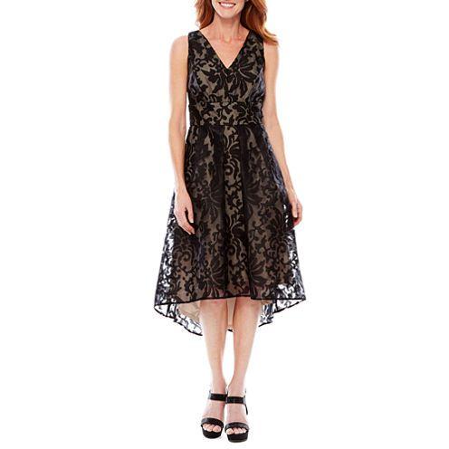 Melrose Sleeveless Fit Amp Flare Dress Jcpenney Dresses