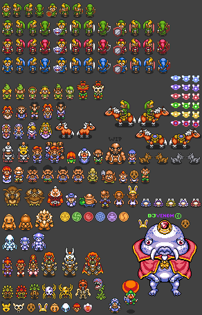 Ocarina Of Time To A Link To The Past Style Project Sprite