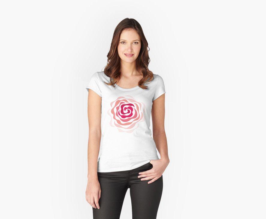 Swirl Rose by Patty Pattern