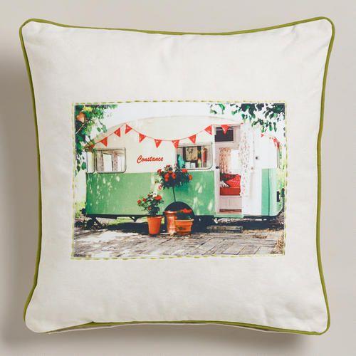 WorldMarket.com: Constance Recycled Tarp Throw Pillow