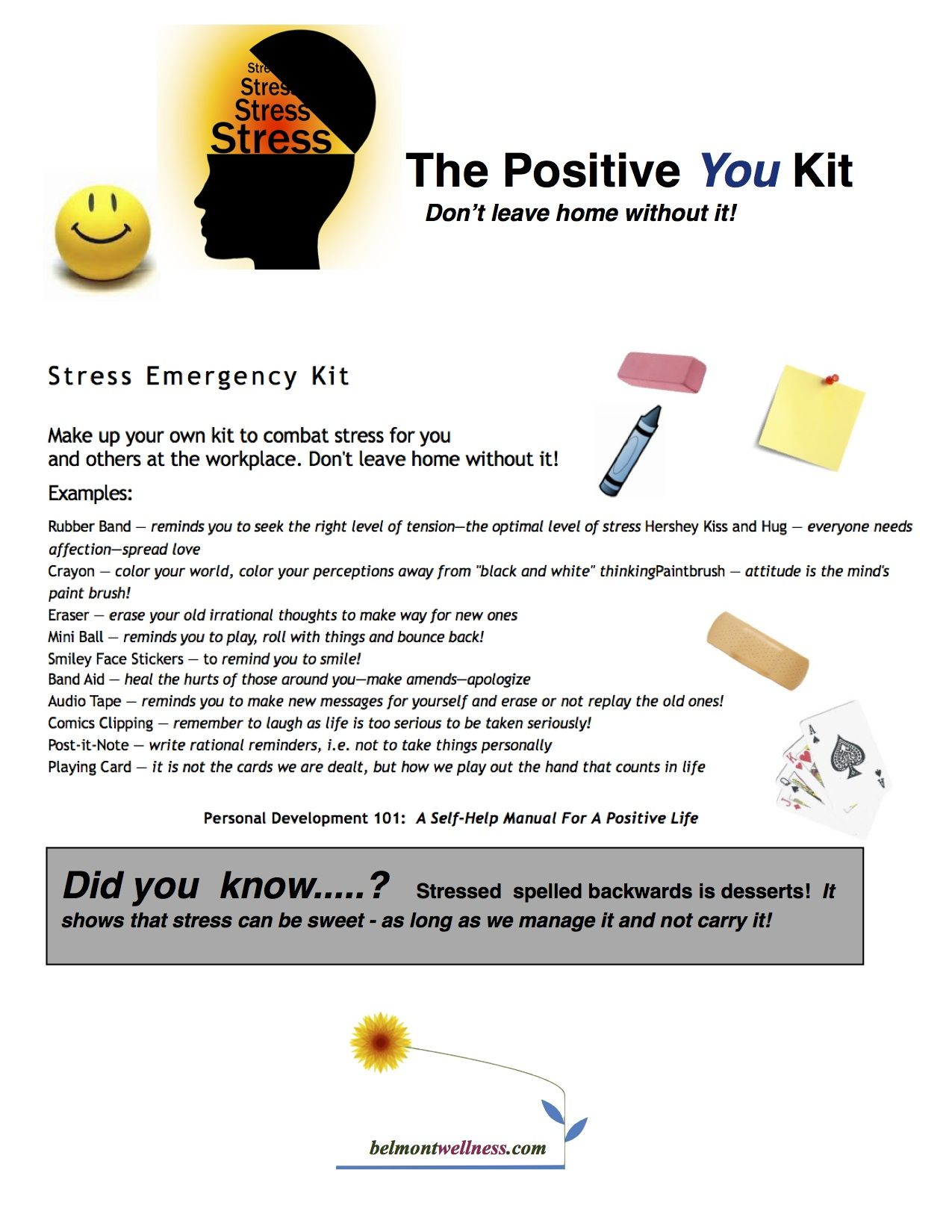 Make Up A Positive You Kit