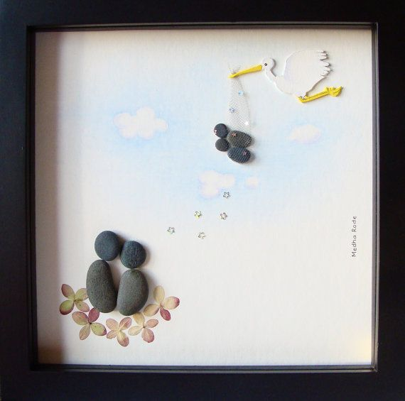 Unique New Baby Gift- Twins Baby Gift- Twins Boy And Girl- Pebble ...