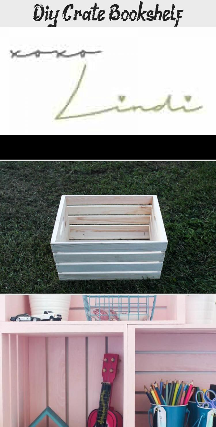 Photo of Diy Crate Bücherregal – Dekor