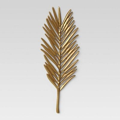 Leaf Wall Decor Light Gold - Opalhouse