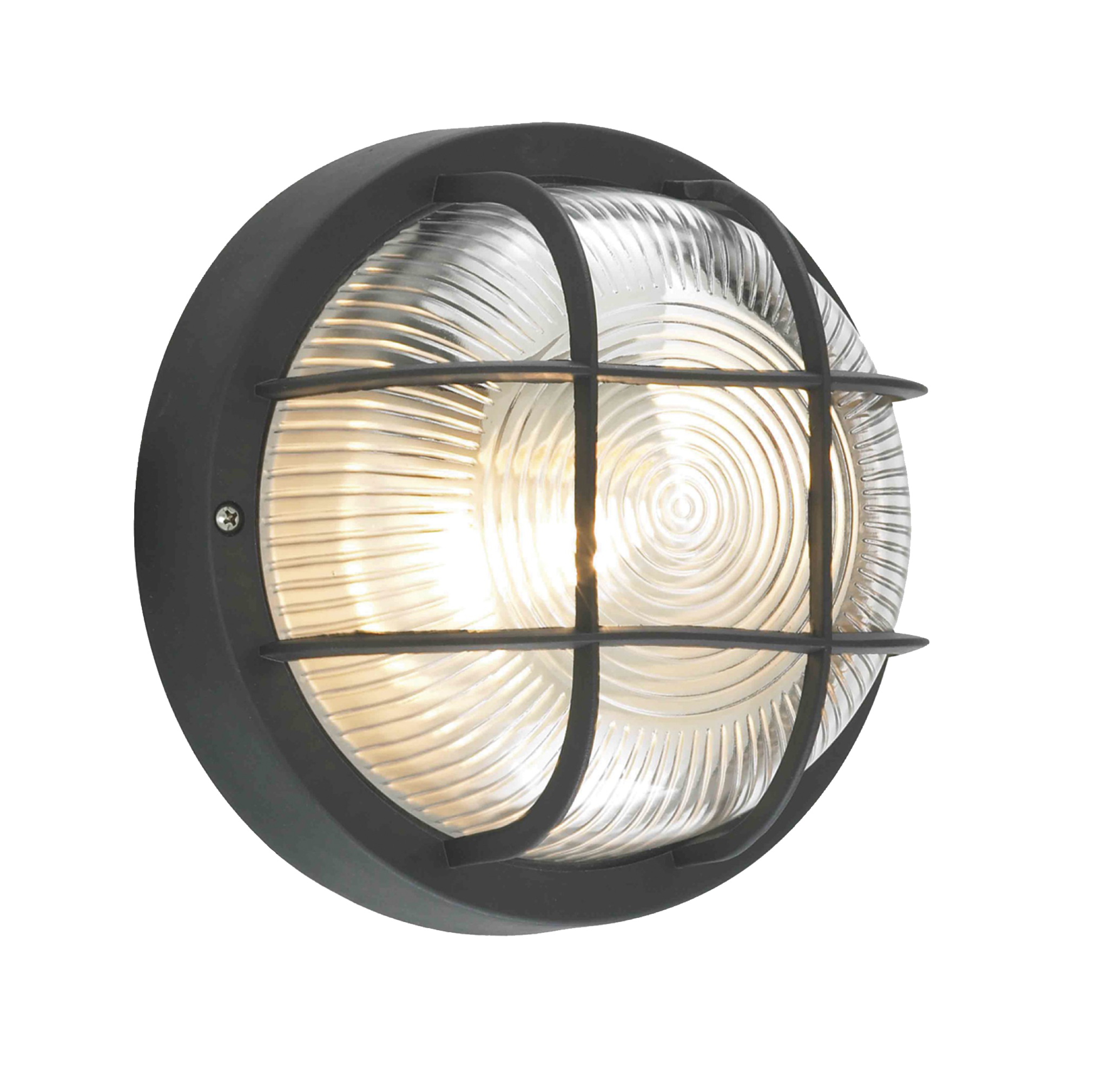 Lampsy Outdoor Round Bulkhead Wall Light OutdoorLampsy1