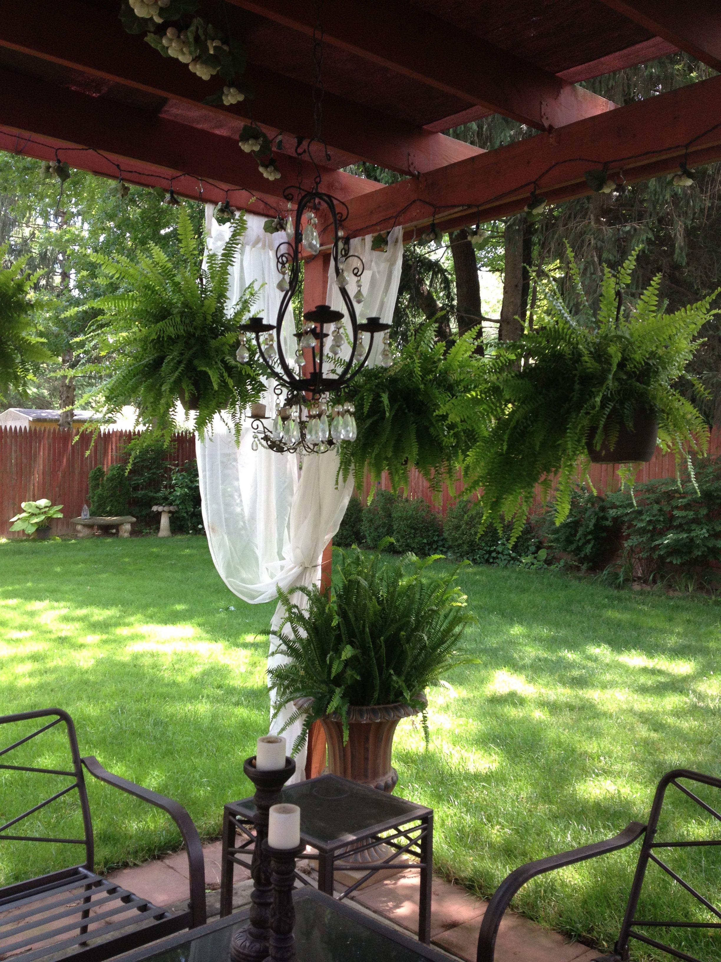 Fully Covered Pergola No Rain Pergola Garden Outdoor