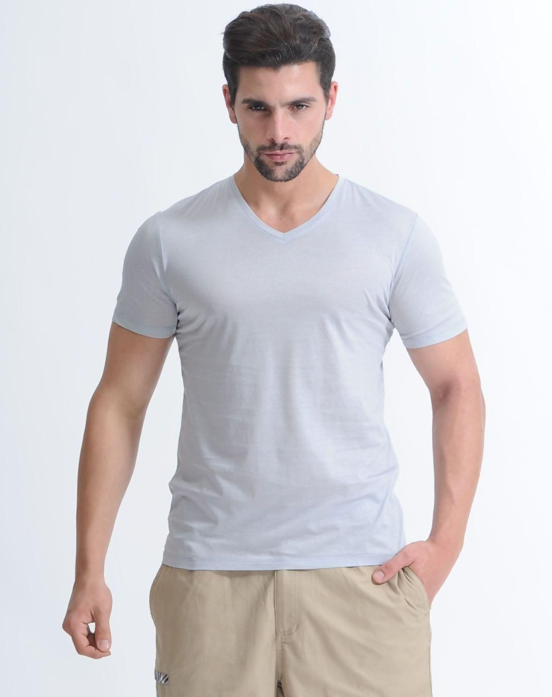 VIPme VIPSHOP Global  Guy Laroche Gray TShirt  AdoreWecom