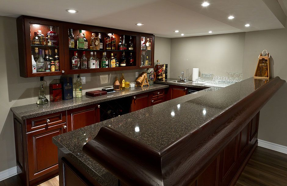Finished Basement Bars, Pubs & Wine Cellars, (With images