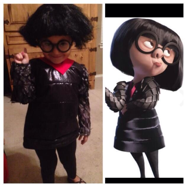 The Incredibles Edna Mode Costume Made For Under 20 Running Costumes Creative Costumes Halloween Costumes