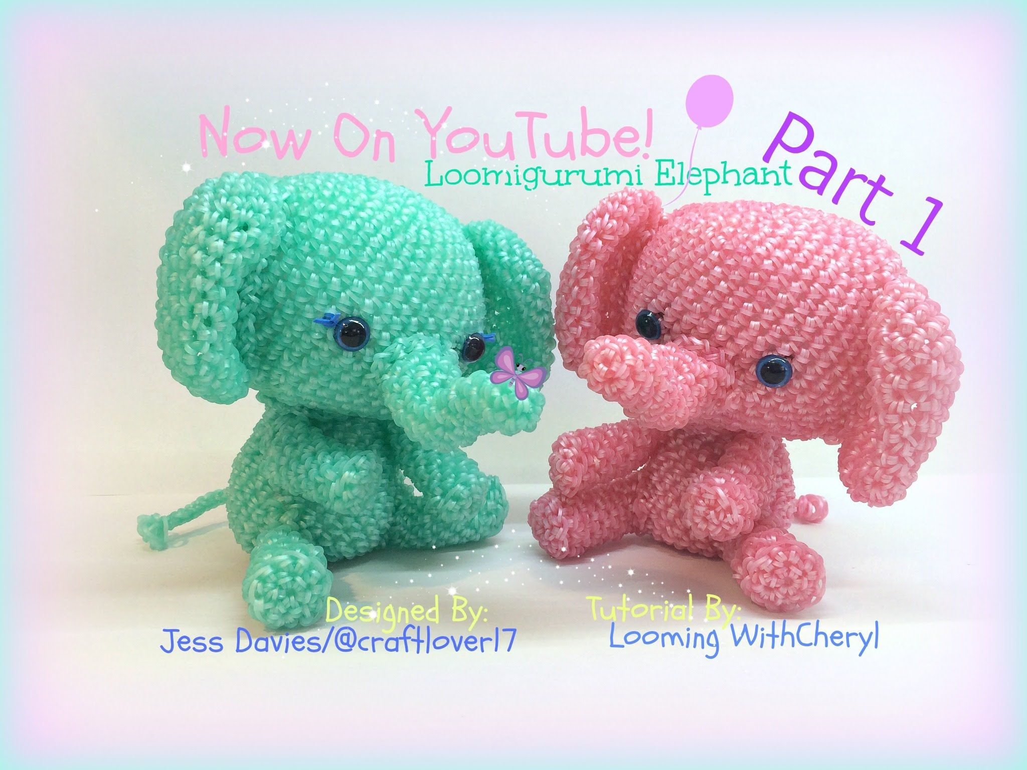 Amigurumi Loom Patterns : Registered copyright pattern number #245634023. part 1 of 2 in