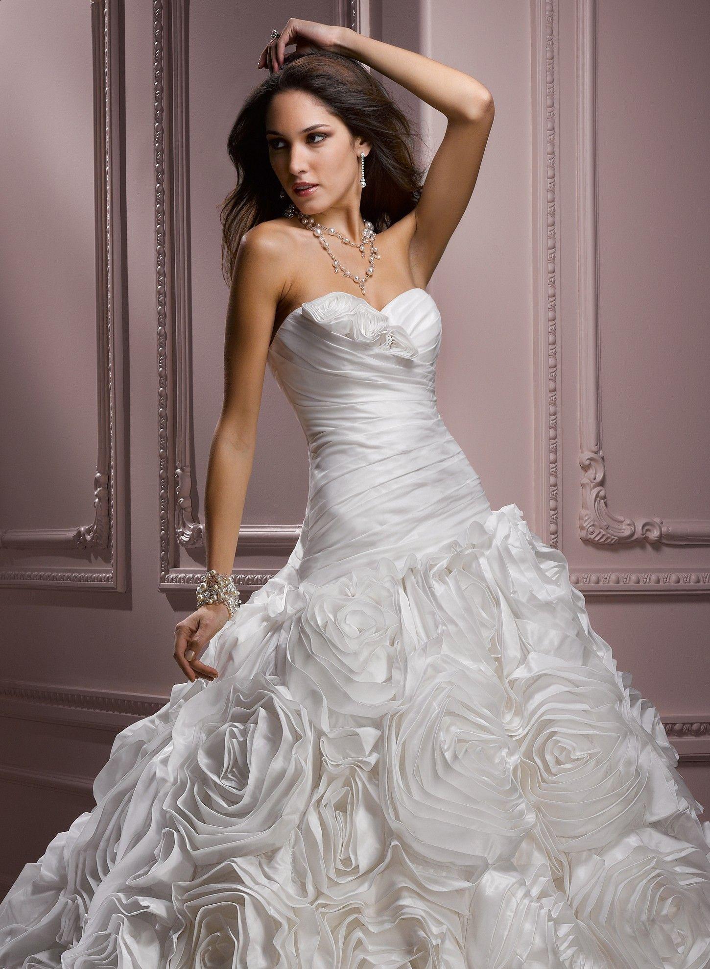 Ball gowns wedding dresses  Parisian Taffeta Sweetheart Neckline Ball Gown Wedding Dress  Ball